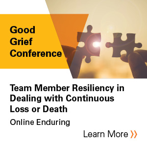 Team member resiliency in dealing with continuous loss or death Banner